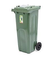 Blooma Green Wheelie bin 140L