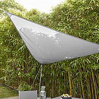 Blooma Grey 3m Shade sail