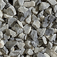 Blooma Ice blue Marble Crushed pebble, 22.5kg Bag