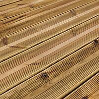 Blooma Lemhi Premium UC4 Pine Deck board (L)2.4m (W)144mm (T)27mm