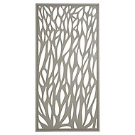Blooma Neva Leaf 1/2 Fence panel (W)0.88m (H)1.79m