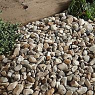 Blooma Pearl grey Decorative stones, Bulk Bag