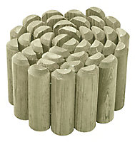 Blooma Pine Edging roll, (H)150mm (L)1.8m