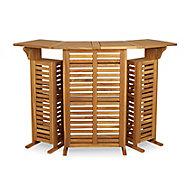 Blooma Porak Wooden Drink cabinet bar