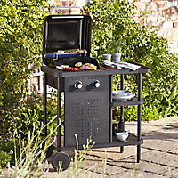 Blooma Rockwell 210 Black 2 burner Gas Barbecue