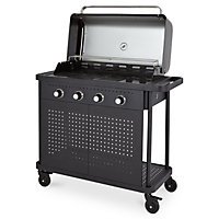 Blooma Rockwell 400 Black 4 burner Gas Barbecue