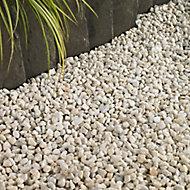 Blooma Spar White Decorative stones, Bulk Bag