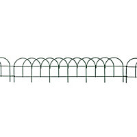 Blooma Steel Lawn edging, (H)150mm (L)0.67m