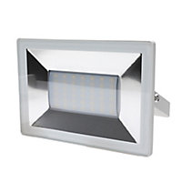 Blooma Weyburn White Mains-powered Cool white Floodlight 2400lm