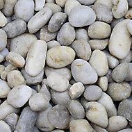 Blooma White Stone Pebbles, 5kg Bag