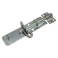 Blooma Zinc-plated Brenton Steel Gate bolt, (L)152mm