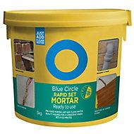Blue Circle Rapid set Ready for use Rendering & screeding Mortar, 5kg Tub