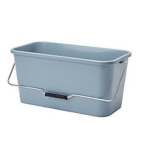 Blue & grey Plastic 10L Bucket