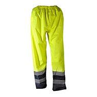 """Blue & hi-vis yellow Waterproof Trousers W26.8"""" L30"""""""
