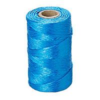 Blue Polypropylene (PP) Twine, (L)80m (Dia)1.8mm