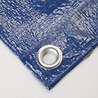 Blue Tarpaulin, (L)3m (W)2m