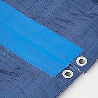 Blue Tarpaulin Tape (L)5m (W)100mm
