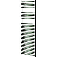 Blyss 449W Electric Chrome Towel warmer (H)1600mm (W)450mm
