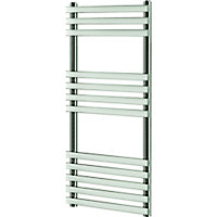 Blyss Emsworth 295W Chrome Towel warmer (H)974mm (W)500mm