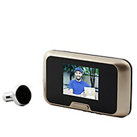 Blyss Wired Video intercom system Black & gold