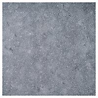 Bombay Smoke grey Matt Stone effect Porcelain Outdoor Floor Tile, Pack of 2, (L)600mm (W)600mm