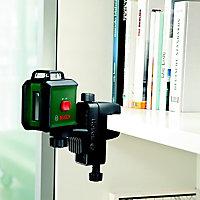 Bosch Cross line lasers 24m Self-levelling Laser level