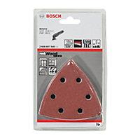 Bosch Mixed grit Sanding sheet set (L)20mm (W)111mm, Set of 10