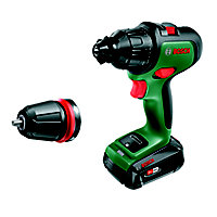 Bosch Power for All 18V 2.5Ah Li-ion Cordless Brushed Combi drill Advanced Impact 18