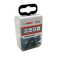 Bosch Pozidriv Impact Screwdriver bits 25mm, Pack of 25