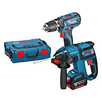 Bosch Professional 4Ah Li-ion Cordless Combi drill & hammer pack 0.615.990.H5H
