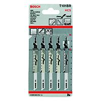 Bosch T-shank Jigsaw blade T101BR 100mm, Pack of 2