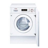 Bosch White Built-in Condenser Washer dryer, 7kg/4kg