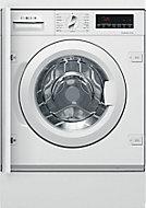 Bosch White Built-in Washing machine, 8kg