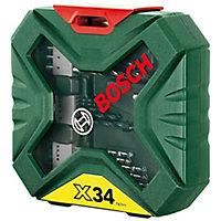 Bosch X-Line 34 piece Mixed Drill bit