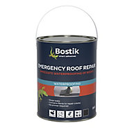 Bostik 5kg Black Roofing waterproofer Tin