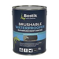 Bostik Black Roofing waterproofer, 5L Metal container