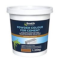 Bostik Brown Powder colour, 1.25kg Tub