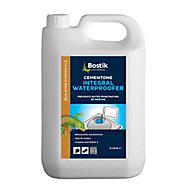 Bostik Cementone Yellow Waterproofing & air entraining admixture, 5L Plastic jerry can