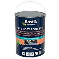 Bostik One coat Grey Roof & gutter Sealant, 5L