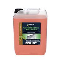 Bostik Orange Waterproofer & retarder, 5L Jerry can