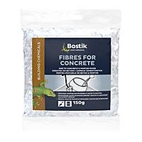 Bostik White Concrete fibres, 150g Bag