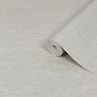 Boutique Horizon Grey Textured Wallpaper
