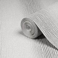 Boutique Valentino Striped Glitter effect Textured Wallpaper