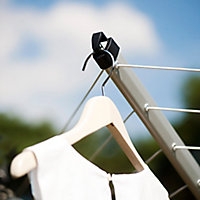 Brabantia Silver effect Rotary airer, 60m