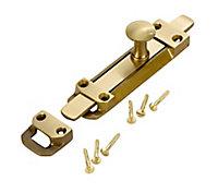 Brass Door bolt (L)152mm