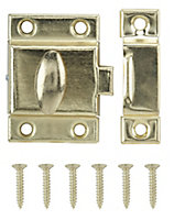 Brass-plated Carbon steel Cabinet catch