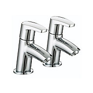 Bristan Divine Chrome effect Sink Pillar Tap