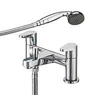 Bristan Quest Chrome effect Bath Shower mixer Tap