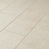 Burgundy Beige Matt Stone effect Porcelain Outdoor Floor Tile, Pack of 7, (L)600mm (W)300mm