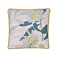 Cabochon Floral Multicolour Cushion